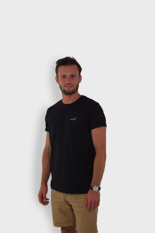 GLANG GOLF - LIFESTYLE. T-shirt Liberty AIR SHOT - Black