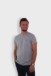 GLANG GOLF - LIFESTYLE. T-shirt Liberty AIR SHOT - Heather Grey