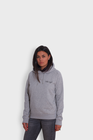 GLANG GOLF - LIFESTYLE. Hoodie Stellar BIRDIE ANGEL - Heather Grey