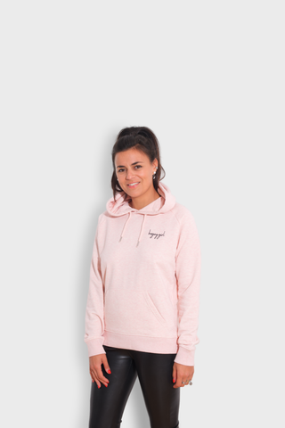 GLANG GOLF - LIFESTYLE. Hoodie Stellar BOGEY GIRL - Heather Pink