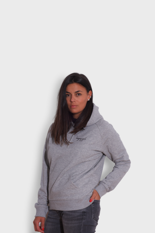 GLANG GOLF - LIFESTYLE. Hoodie Stellar BOGEY GIRL - Heather Grey