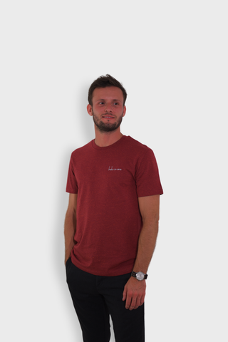 GLANG GOLF - LIFESTYLE. T-shirt Iconic HOLE IN ONE - Heather Red