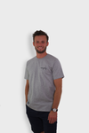 GLANG GOLF - LIFESTYLE. T-shirt Liberty MOVING DAY - Heather Grey
