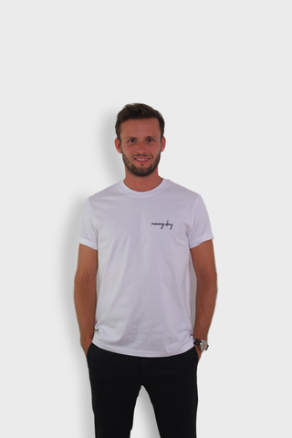 GLANG GOLF - LIFESTYLE. T-shirt Liberty MOVING DAY - White