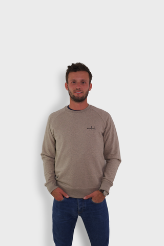 GLANG GOLF - LIFESTYLE. Sweat Dandy MUDBALL - Heather Sand