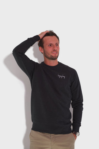 GLANG GOLF - LIFESTYLE. Sweat Dandy BOGEY BOY - Heather Black