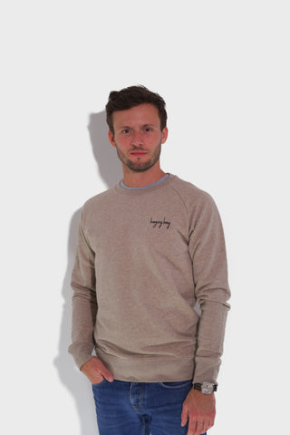 GLANG GOLF - LIFESTYLE. Sweat Dandy BOGEY BOY - Heather Sand