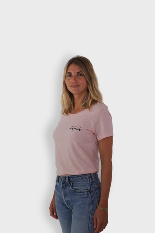 GLANG GOLF - LIFESTYLE. T-shirt Fame OUT OF BOUNDS - Heather Pink