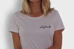 GLANG GOLF - LIFESTYLE. T-shirt Fame OUT OF BOUNDS - Old White