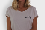 GLANG GOLF - LIFESTYLE. T-shirt Fame OVER THE TOP - Old White
