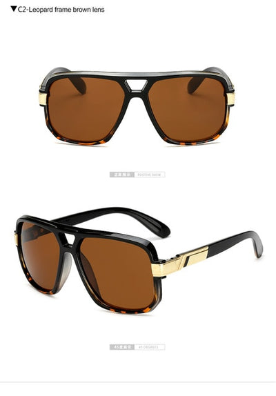 Long Keeper Square Sunglasses - AccessoryStyle