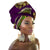 National Decorative Scarf Shawls Women African Head Wrap African Traditional Cotton Headscarf