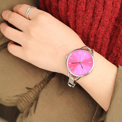Big Dial Casual Decor Wristwatch for Women - AccessoryStyle