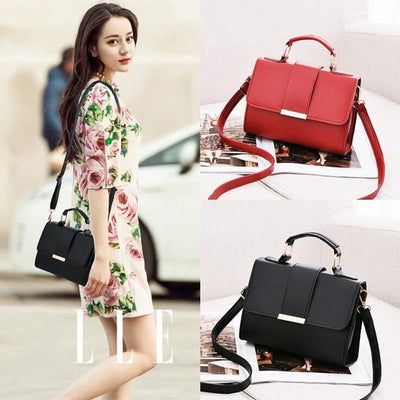 Summer Women Bag Leather Handbags PU Shoulder Bag Small Flap Crossbody Bags - AccessoryStyle