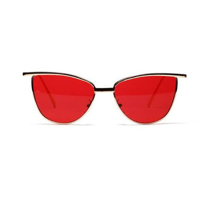 high quality red cat eye sunglasses for women - AccessoryStyle