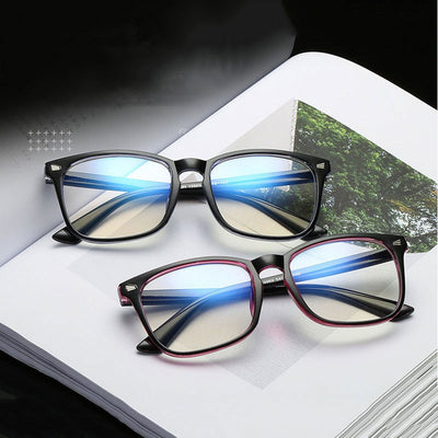Anti blue rays computer Glasses Men Blue Light Coating Gaming Glasses for computer protection eye Retro Spectacles Women - AccessoryStyle