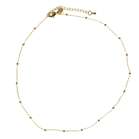 Bobble Gold Chain Necklace