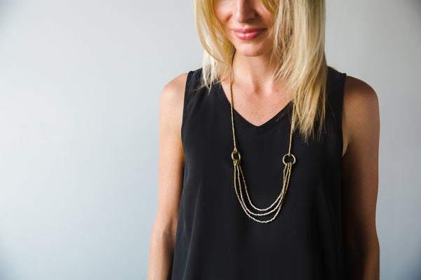 Ombre Layer Necklace