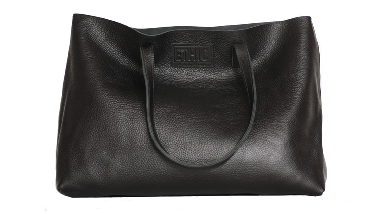 Ethic Leather Carry All Tote