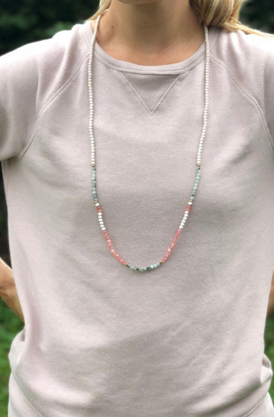 Morse Code Single Strand Necklace