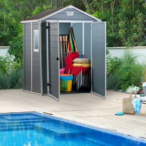 Manor 6x5ft DD Shed