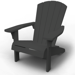 Troy Adirondack Chair - Graphite *PREORDER