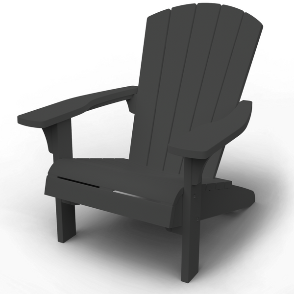 Troy Adirondack Chair - Graphite