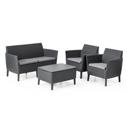 Salemo 2-Seater Lounge Set