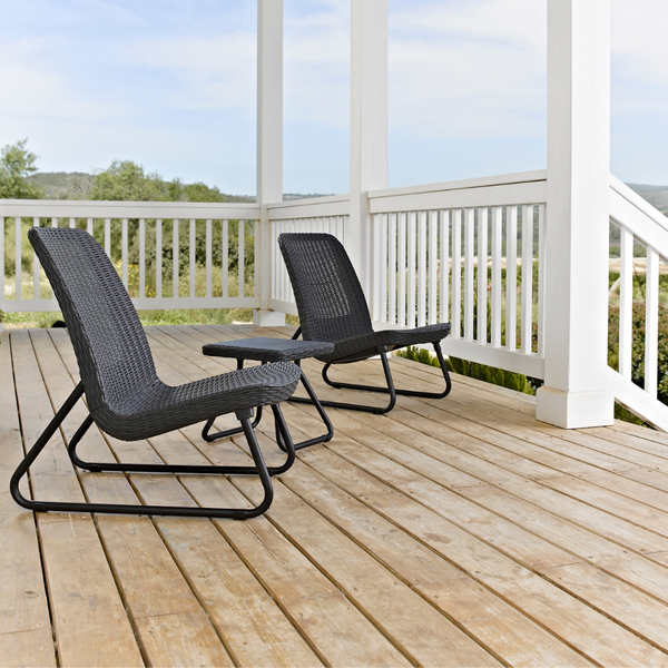 Rio Patio Set - Graphite *PREORDER