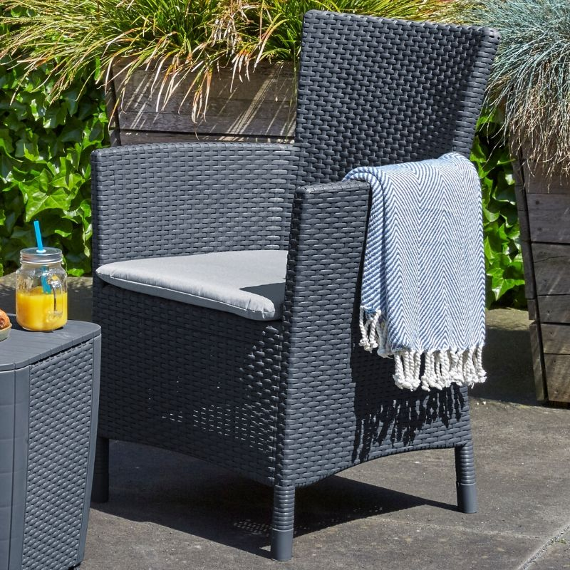 Iowa Dining Chair - Graphite