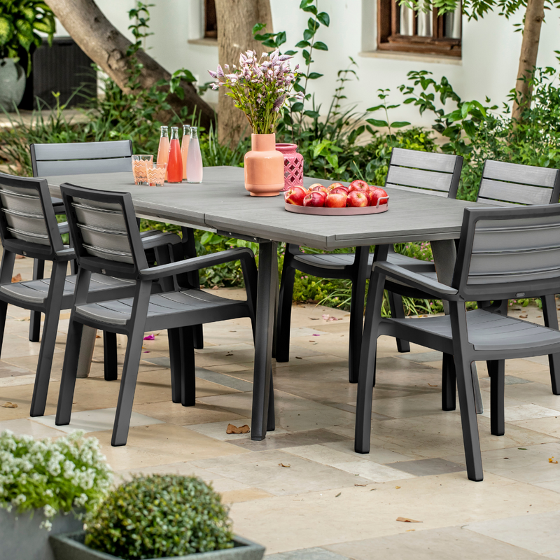 Harmony 11 Piece Extendable Dining Set * PREORDER