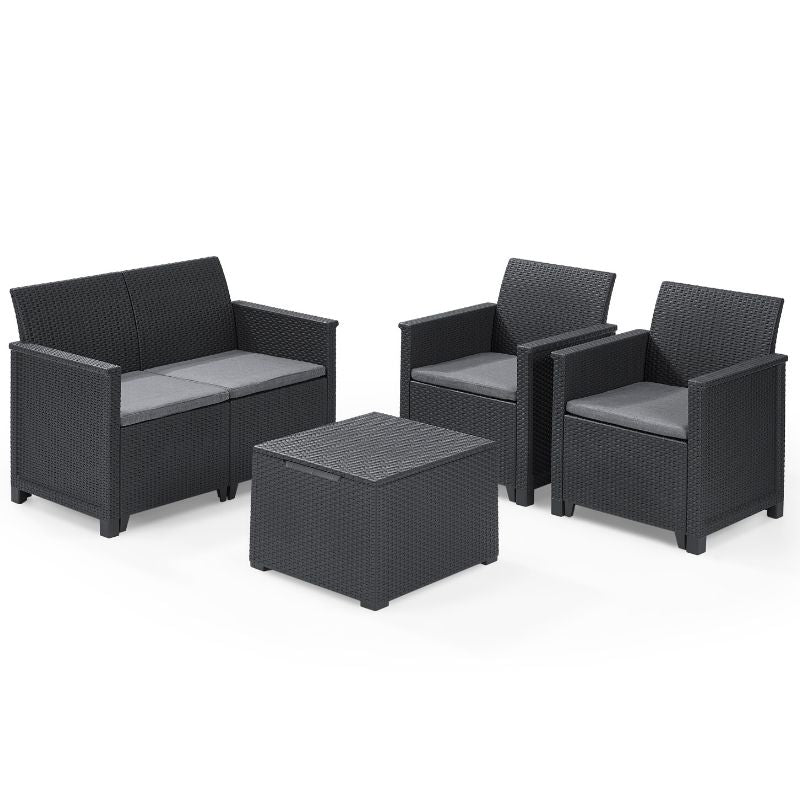 Emma Lounge Set - Graphite