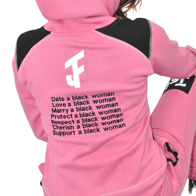 Pink Women Sweatsuit Set