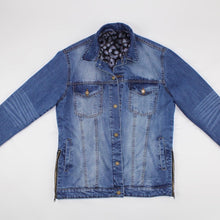 JeFor Blue Denim Jean Jacket