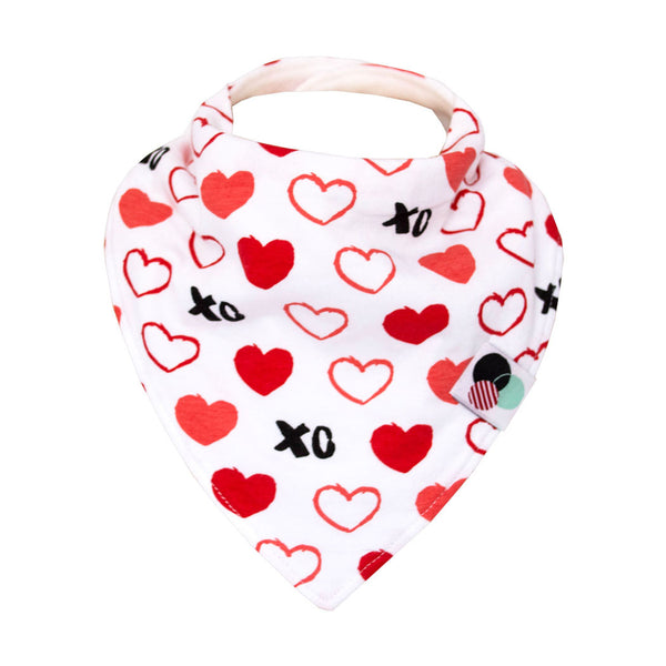 Glossy Dots Bandana Bibs (Multiple Colors) (4366555283503)
