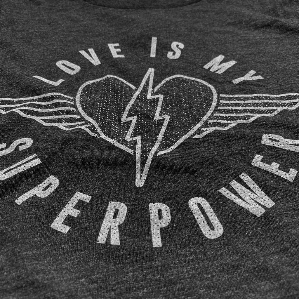 Rivet Apparel Love is My Superpower Tee