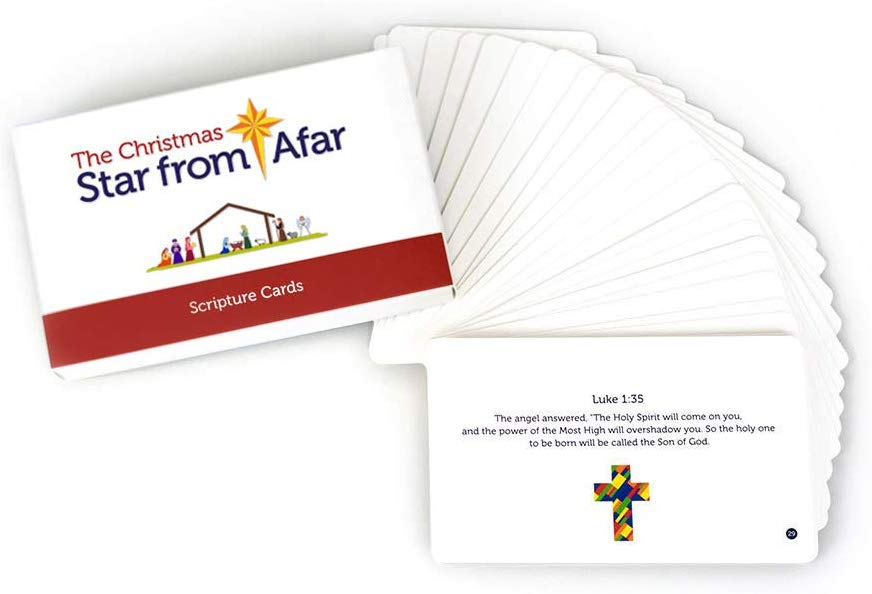 The Christmas Star from Afar Scripture Cards