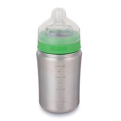 Klean Kanteen Baby Bottle 9oz with Medium Flow Nipple