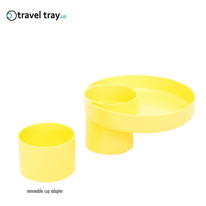 Travel Tray Carseat Snack Cup