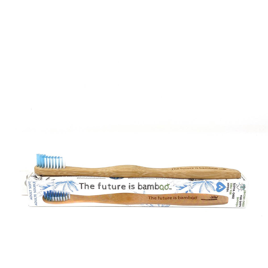 The Future is Bamboo Adult Soft Toothbrushes