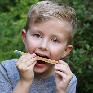 The Future is Bamboo Kids Toothbrushes