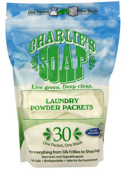 Charlie's Soap Laundry Powder Packets