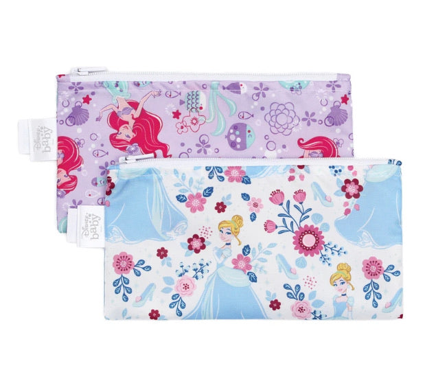 Bumkins Small Snack Bag 2 Pack (more prints)