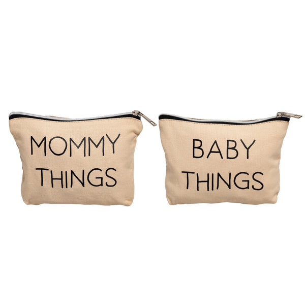 Pearhead Mommy and Baby Travel Pouches (4884546093103)