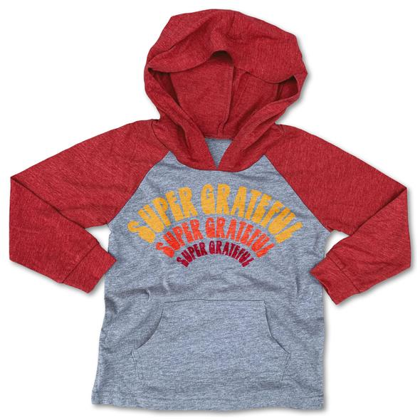 Rivet Apparel Super Grateful Hooded Tee