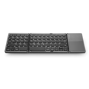Teclado táctil inalámbrico plegable para IOS / Android / Windows Ipad Tablet