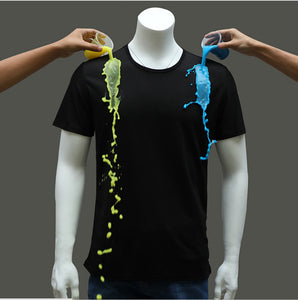 Quick-drying waterproof anti-fouling T-shirt quick-drying couple half sleeve bottoming shirt