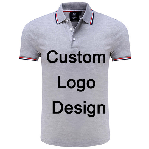 Factory Custom Logo DIY Uniform Golf Baseball Polo Shirt With Printing Embroidery