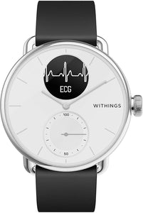 Withings ScanWatch - Reloj inteligente ECG, tensiómetro y oxímetro, 38 y 42 mm, 50m
