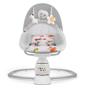 Baby swing  with music and toys Electric swing bouncer, side to side gentle sway
